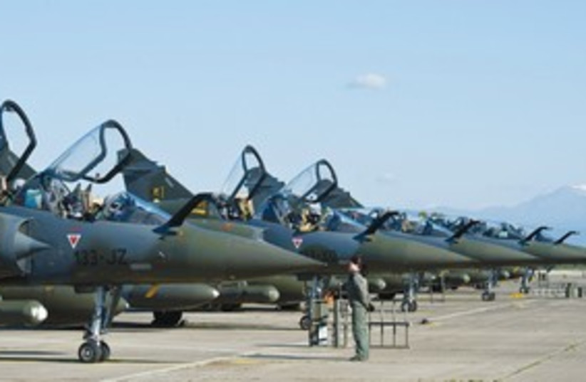 FRENCH AIR Force Mirage 2000 fighter jets 311 (photo credit: Reuters)