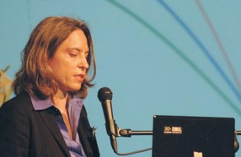 KATRIN-SUSANNE Richter, director of the DESERTEC (photo credit: Lior Tzadik)