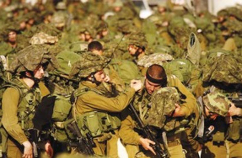IDF Soldiers 311 (R) (photo credit: REUTERS)