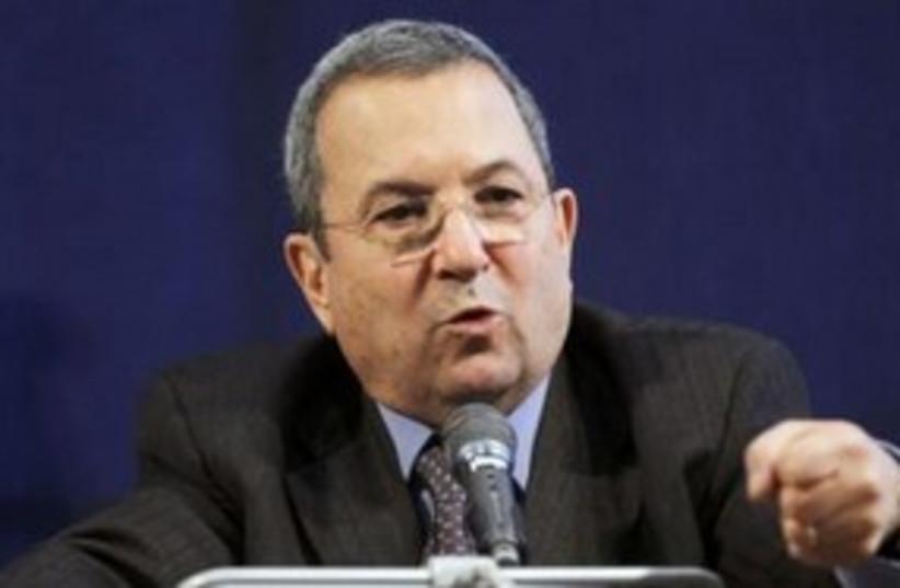 Barak speech serious 311 (photo credit: REUTERS/Charles Dharapak/Pool )