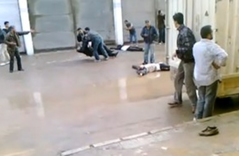 Protesters shot in Syria 311 (photo credit: Courtesy)