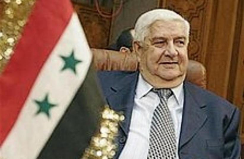 syrian fm 224 ap (photo credit: AP)