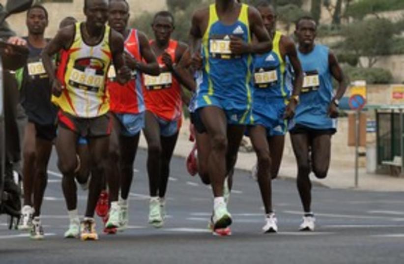 Marathon Winner 311 (photo credit: Marc Israel Sellem)