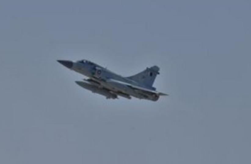 Qatar Air Force Dassault Mirage 2000-5 fighter jet 311 (R) (photo credit: REUTERS)