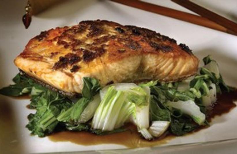 Salmon dish 311 (photo credit: MCT)