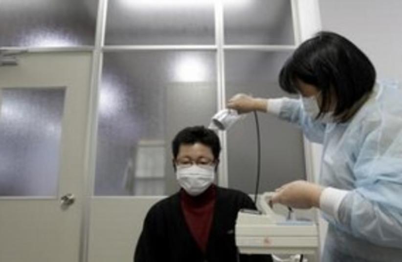 Japan Radiation Test 311 (photo credit: REUTERS)