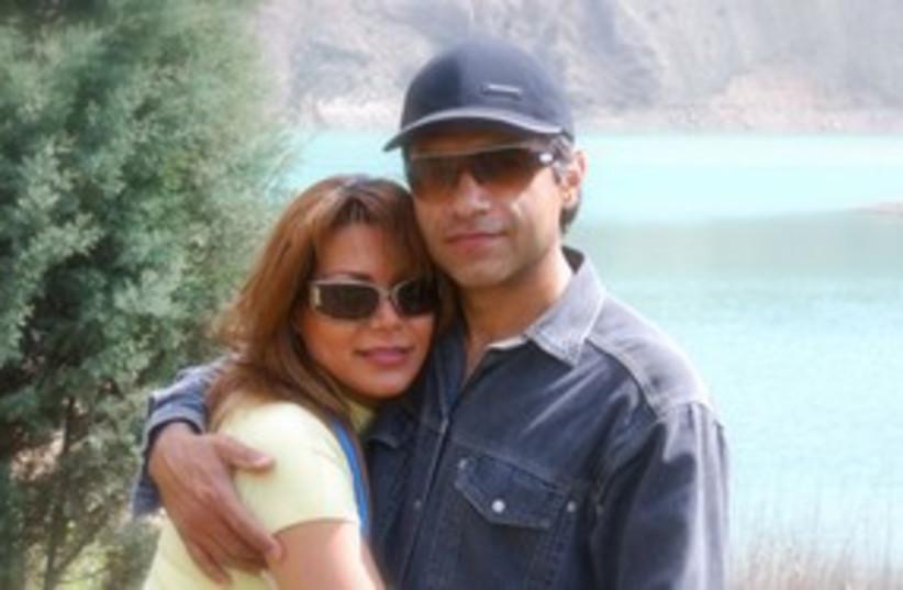 Iranian dissident Caspian Makan, Neda Agha-Soltan 311 (photo credit: Courtesy)