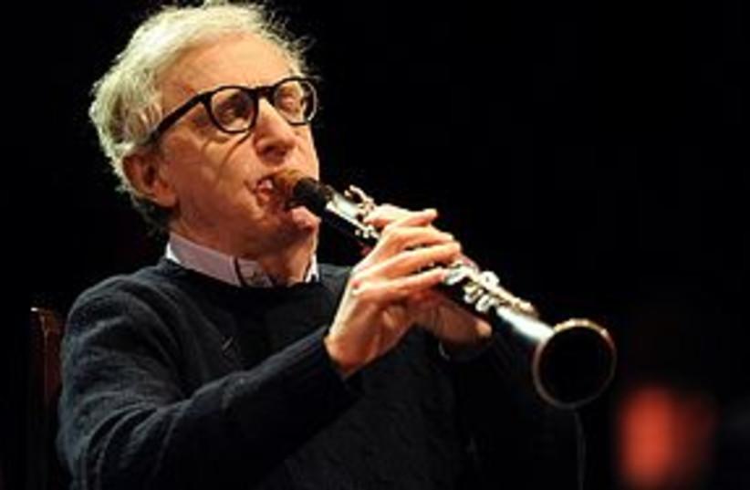 woody allen clarinet 311 (photo credit: REUTERS)