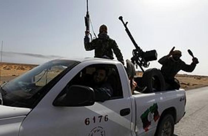 libyan rebels sirte 311 (photo credit: REUTERS)