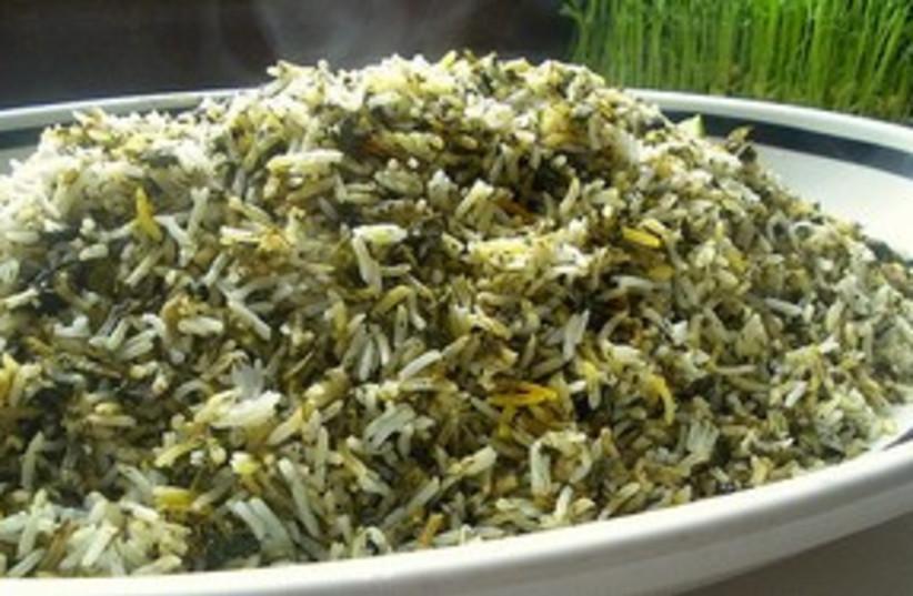 Persian rice 311 (photo credit: turmericsaffron.blogspot.com)