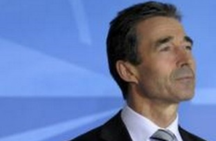 NATO chief Anders Fogh Rasmussen 311 (photo credit: REUTERS/Ezequiel Scagnetti)