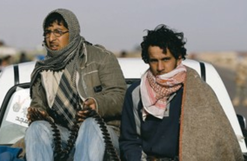 libyan rebels Bin Jawad_311 (photo credit: Reuters)