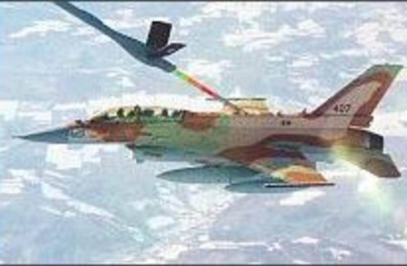 IAF f-16i 224 (photo credit: IDF )