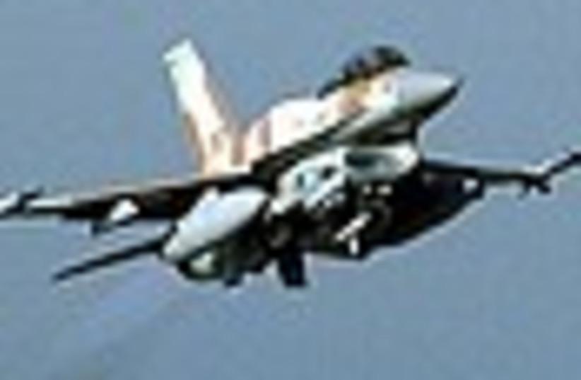 IAF f-16i cool 298 (photo credit: IDF)