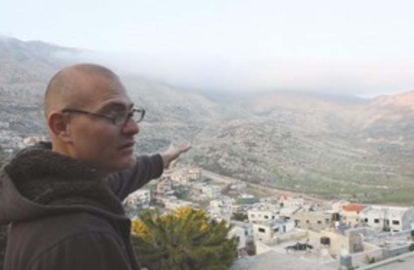 Hamad Awidate, Druse from Majdal Shams 311 (photo credit: Ben Hartman)