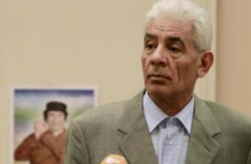 Libya's Foreign Minister Moussa Koussa 311 (photo credit: REUTERS/Zohra Bensemra/Files)