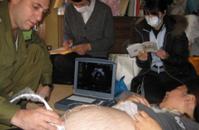 IDF Field Hospital 311 (photo credit: JDC)