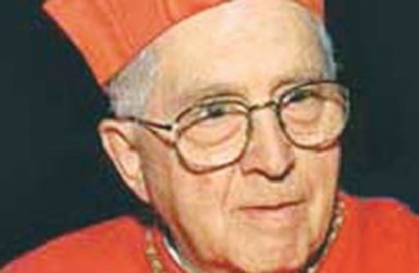 Cardinal Jorge Maria Mejia 311 (photo credit: Courtesy)