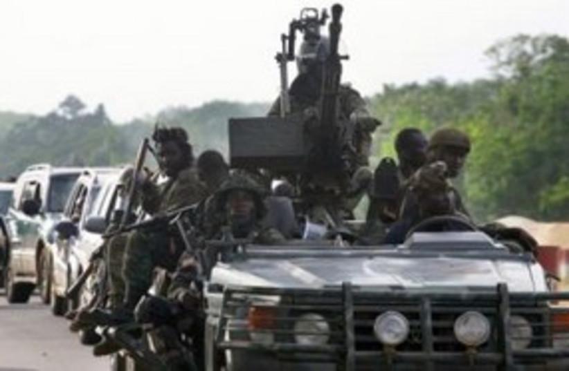 Ivory Coast Forces 311 (photo credit: REUTERS)