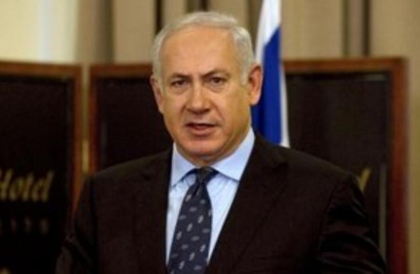 Prime Minister Binyamin Netanyahu 311 (R) (photo credit: REUTERS/Charles Dharapak)