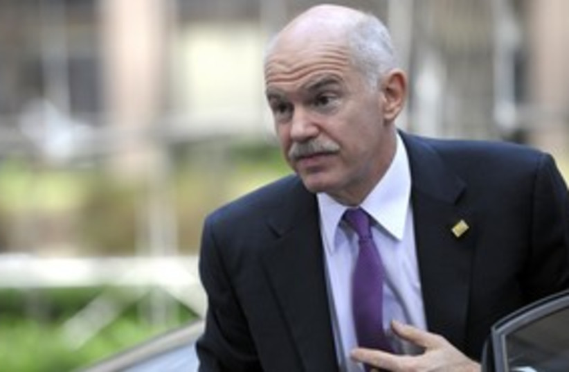 Georges Papandreou_311 (photo credit: Reuters)