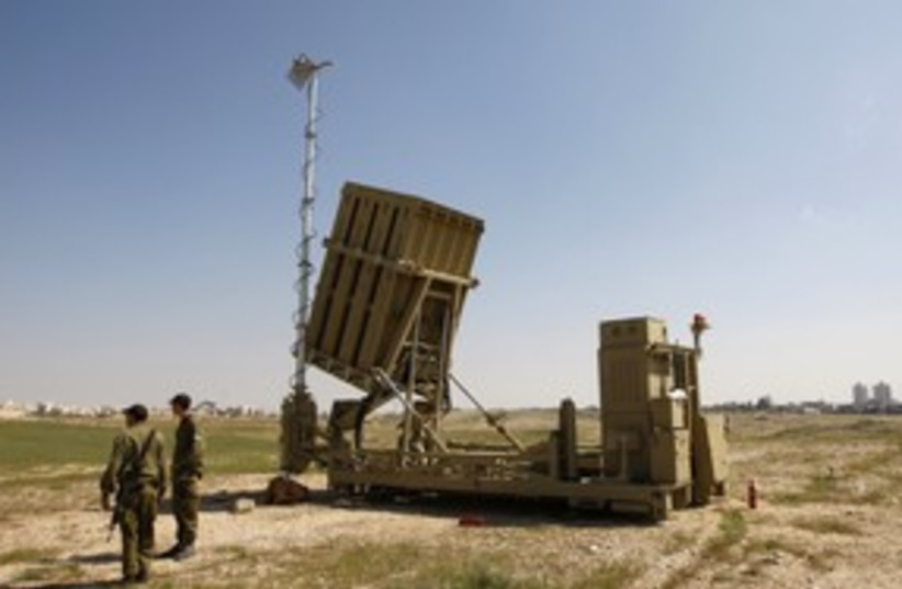 Iron Dome 311 (photo credit: REUTERS)