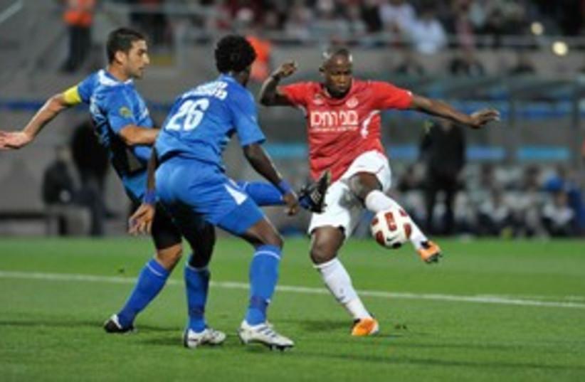 HAPOEL TEL AVIV striker Toto Tamuz 311 (photo credit: Asaf Kliger)