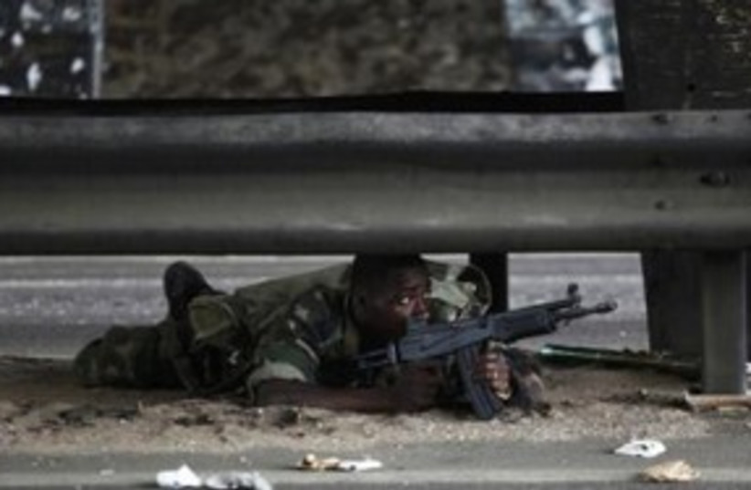 Ivory Coast Soldier 311 (photo credit: REUTERS)
