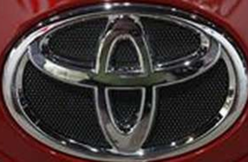 Toyota symbol 311 (photo credit: REUTERS/Frank Polich)