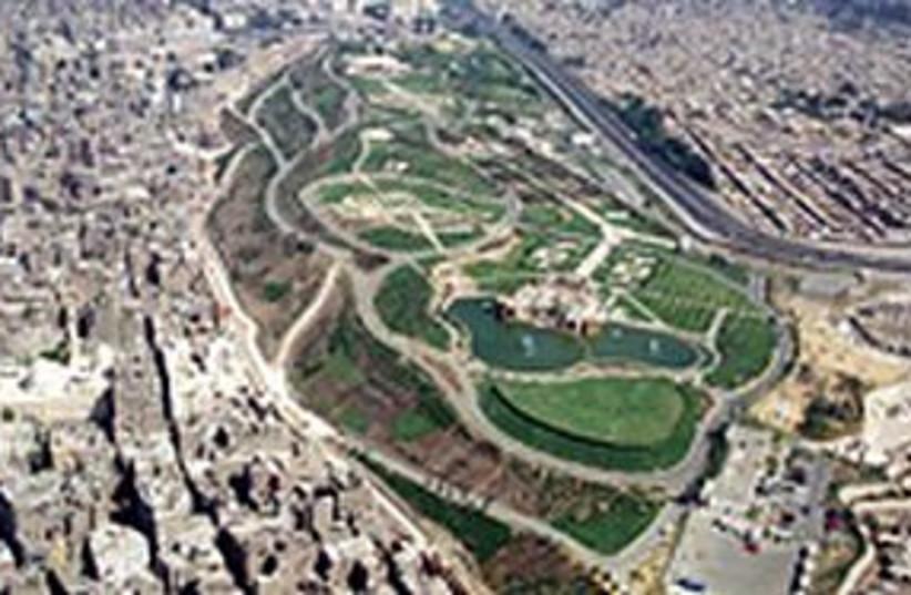 cairo park 311 (photo credit: The Media Line)