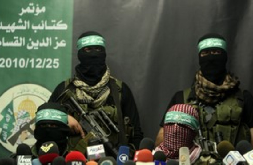 Hamas terrorists 311 (photo credit: REUTERS)