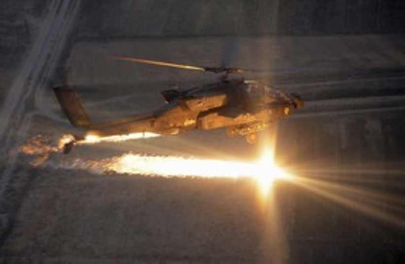 Apache helicopter 311 (photo credit: REUTERS)