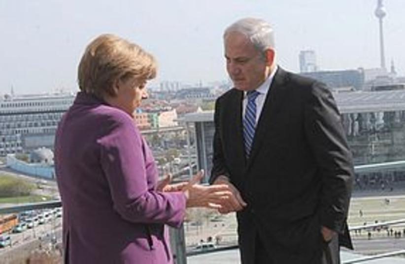 netanyahu merkel 311 (photo credit: GPO)