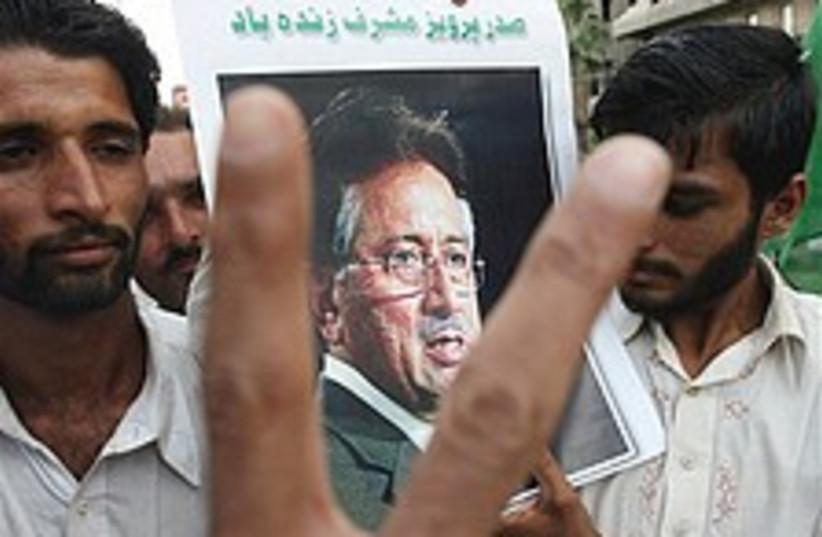 Musharraf elections 224. (photo credit: AP)