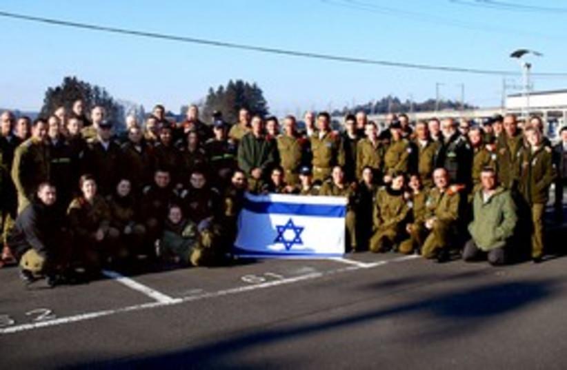 IDF medical aid delegation to Japan 311 (photo credit: IDF Spokesperson)