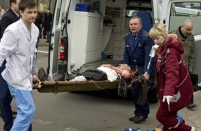 Minsk explosion 311 (photo credit: REUTERS)