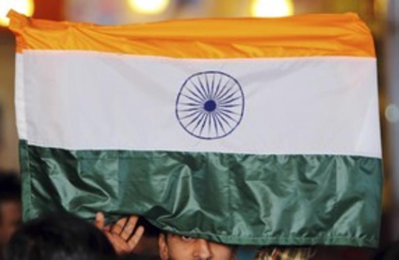 Indian flag_311 reuters (photo credit: Navesh Chitrakar / Reuters)