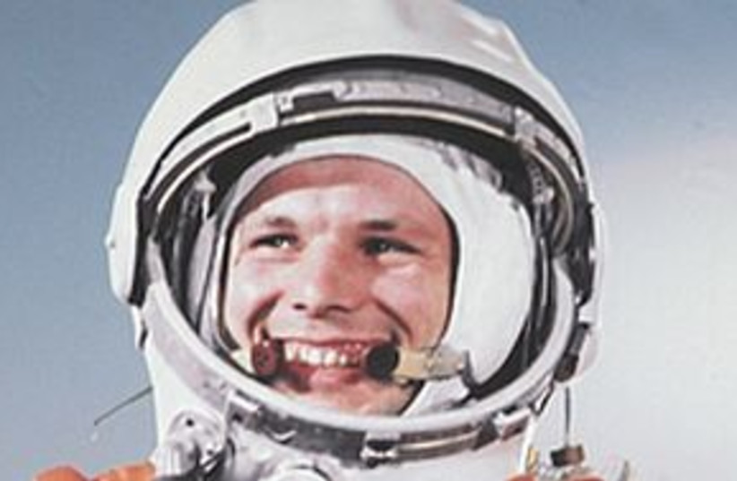 yuri gagarin 311 (photo credit: REUTERS)