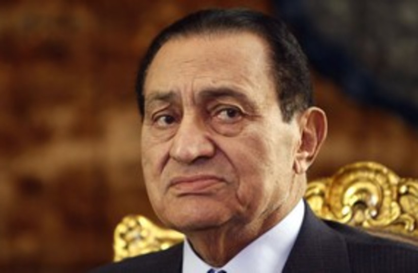 Mubarak 311 Reuters (photo credit: REUTERS/Amr Abdallah )