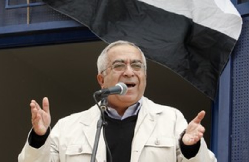 salam fayyad_311 reuters (photo credit: REUTERS/Abed Omar Qusini)