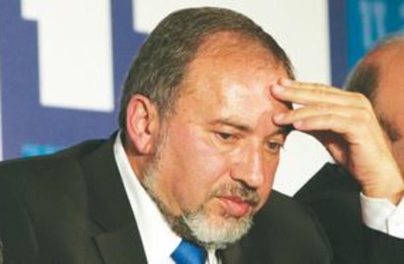 Foreign Minister Avigdor Lieberman 311 (photo credit: Baz Ratner/Reuters)