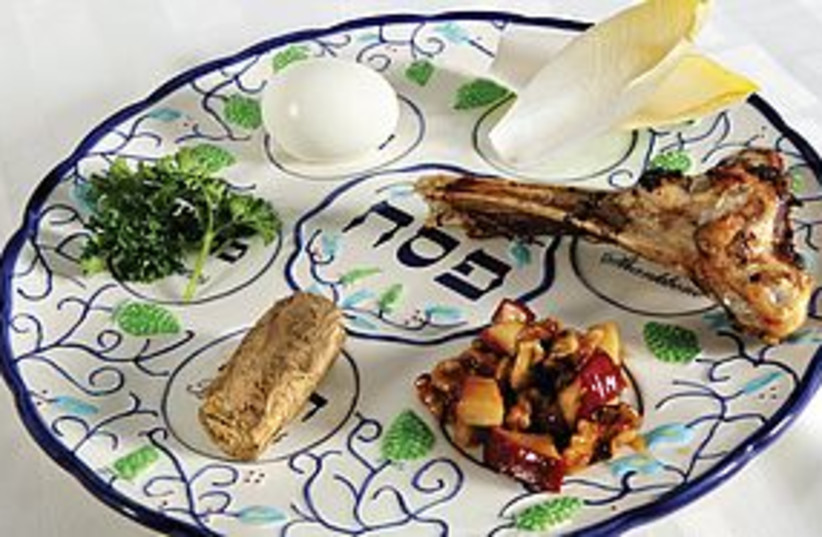 Seder plate 311 (photo credit: courtesy)
