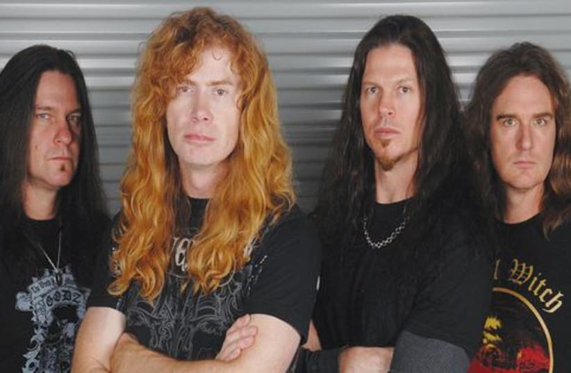 Megadeth band 521 (photo credit: Courtesy)