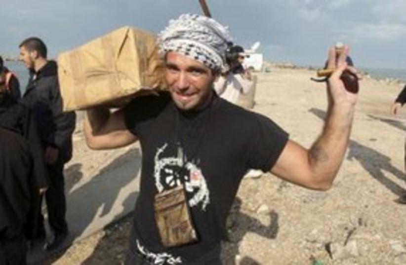 Italian activist Vittorio Arrigoni 311 (R) (photo credit: REUTERS/Suhaib Salem)