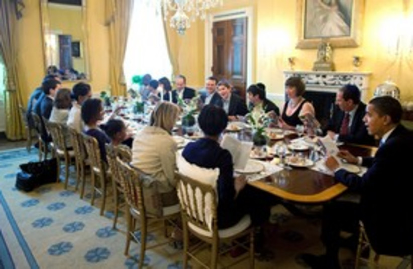 Obama's Seder_311 (photo credit: Reuters)