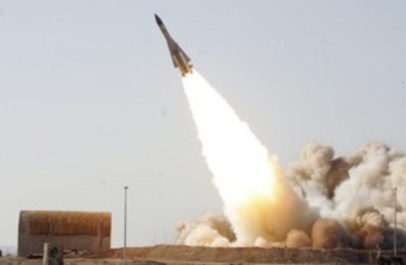 iranian anti-aircraft missile_311 reuters (photo credit: Stringer Iran / Reuters)
