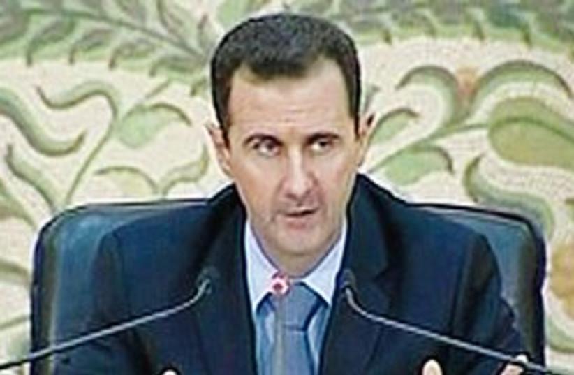 assad speech 311 (photo credit: REUTERS)