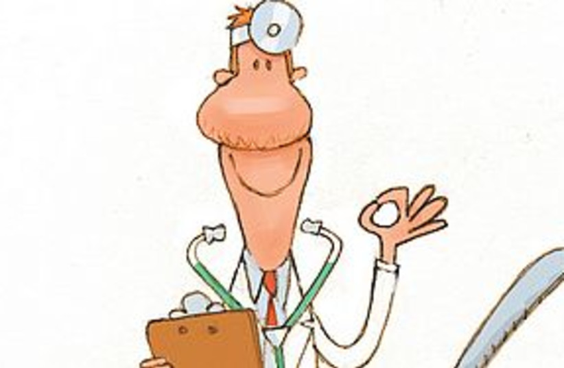 doctor cartoon 311 (photo credit: Chris Ware/Lexington Herald-Leader/MCT)