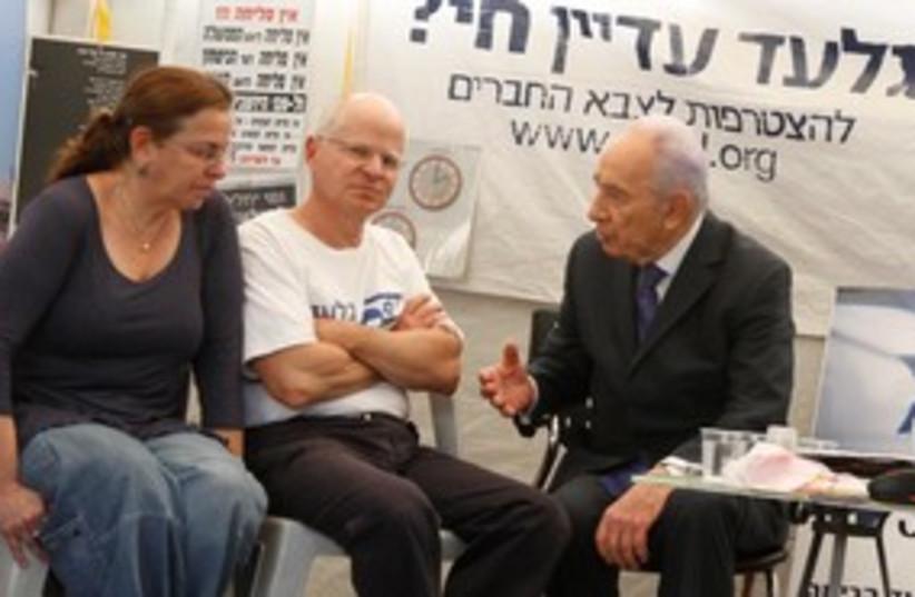 Schalits and Peres 311 (photo credit: Meital Jaslovitz  )