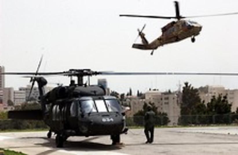 IDF Helicopter 224.88 (photo credit: Ariel Jerozolimski)